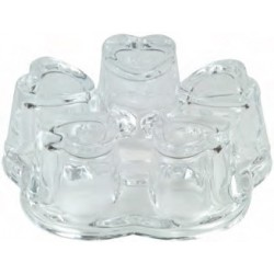 Glas Stövchen Ø 11 cm