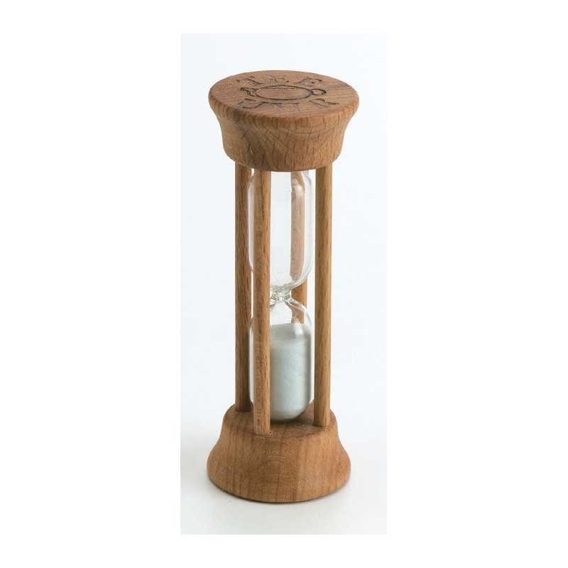 Tee-Uhr Holz