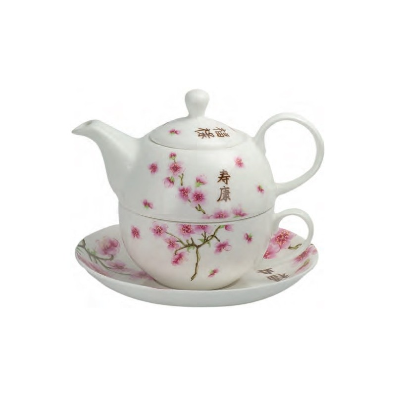 Tea for One Set  - Kirschblüte