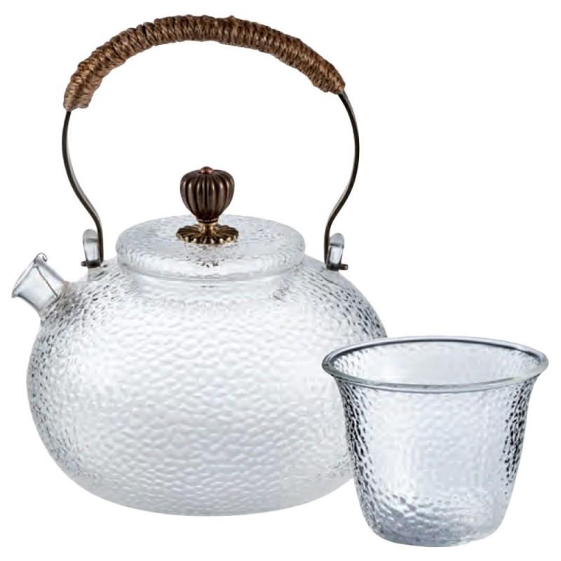 Galsteekanne Oriental mit 4 Stück Cups