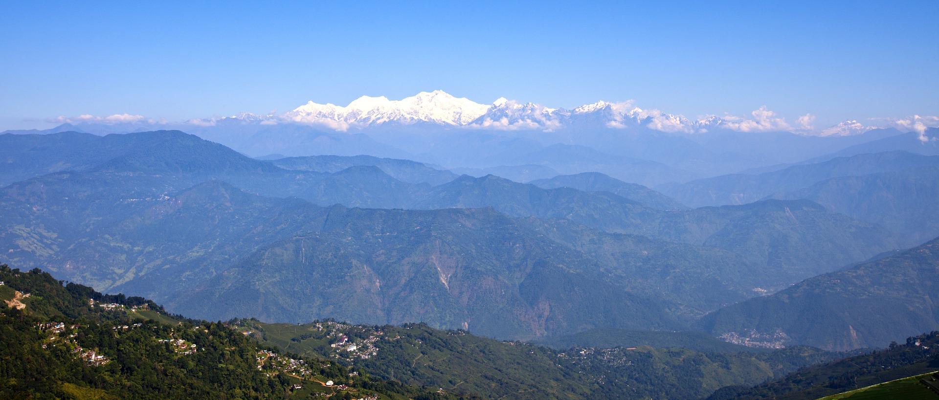 Foto der Landschaft Sikkim